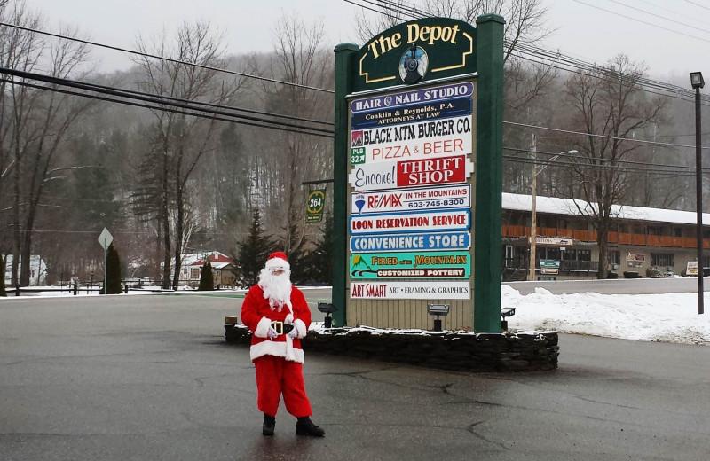 Santa at Loon Reservation Service.
