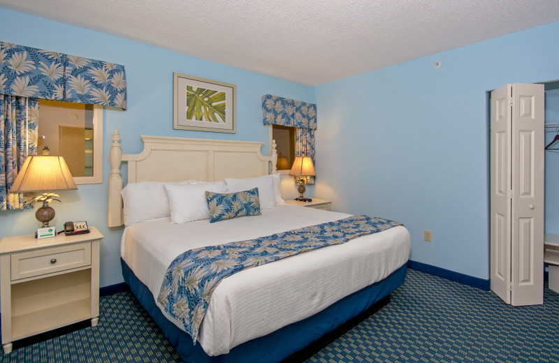 Guest room at Caribbean Resort & Villas.