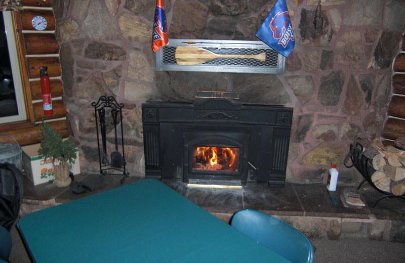 Game room at North Shore Lodge & Resort.