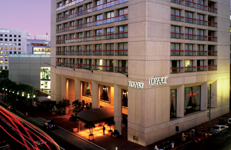 Exterior view of Grand Hyatt San Francisco.
