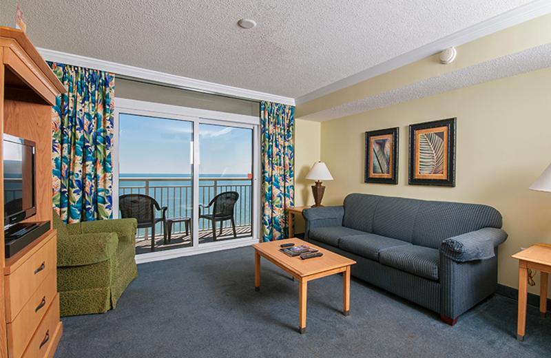 Guest suite at Paradise Resort.