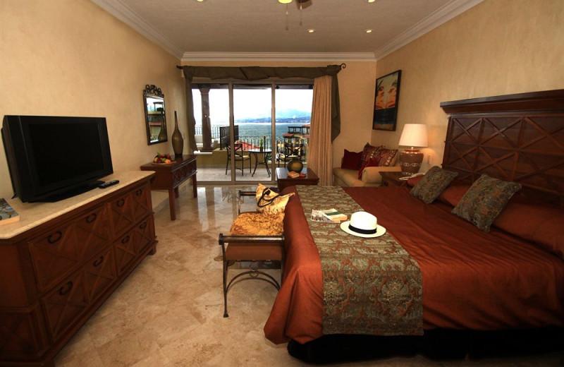 Guest room at Vallarta La Estancia.