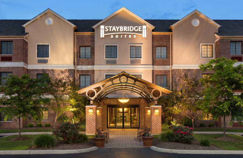 Exterior view of Staybridge Suites - Stow.