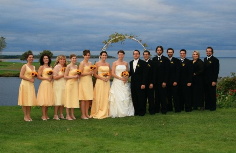 Wedding Party at Pictou Lodge Resort