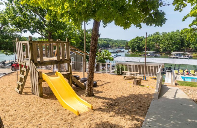 Playground at Point Randall Resort.