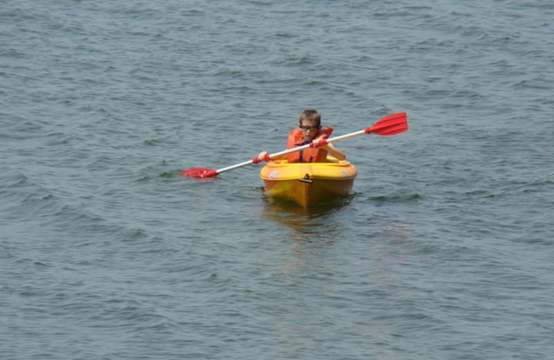 Kayaking at Gull Four Seasons Resort.