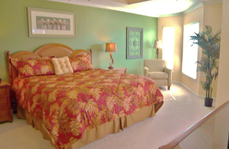 Master Suite with King bed, seating room & In-Suite full bath