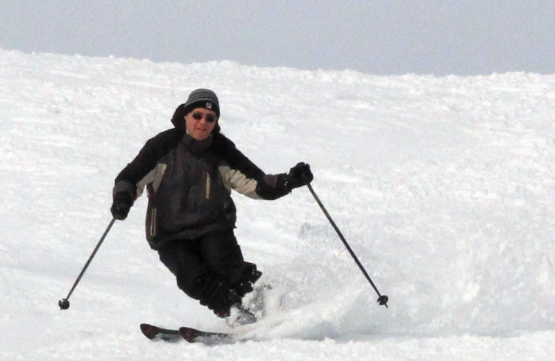 Skiing at Balch Hotel.
