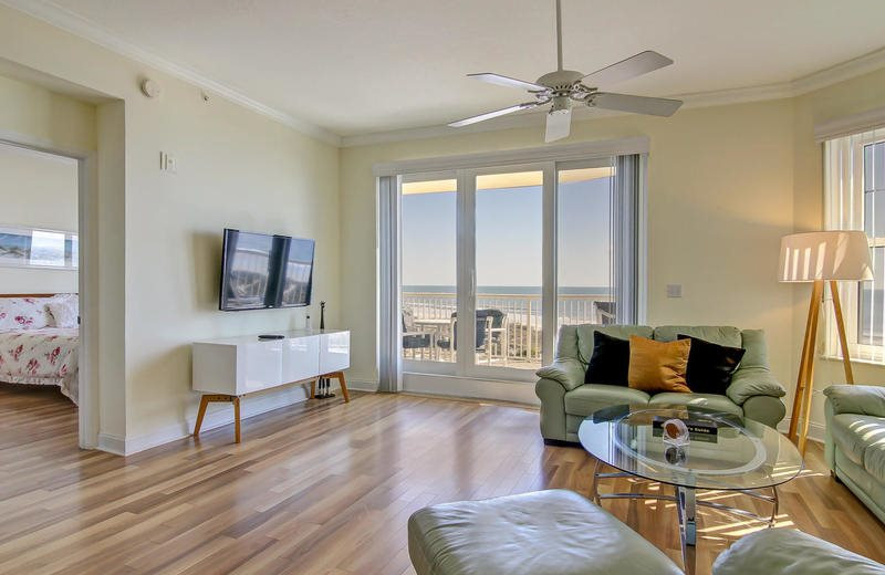 Rental living at Beach Vacation Rentals.