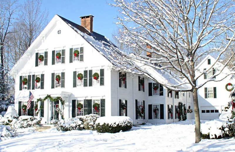 Winter at Camden Maine Stay Inn.