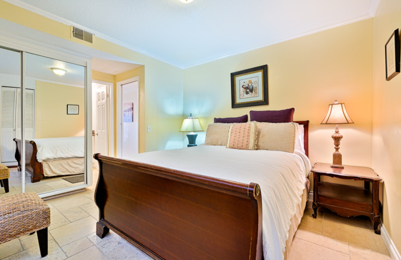 Rental bedroom at Seabreeze Vacation Rentals, LLC-Orange County.