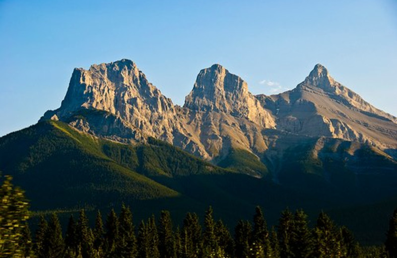 Three Sisters at Holiday Inn Canmore