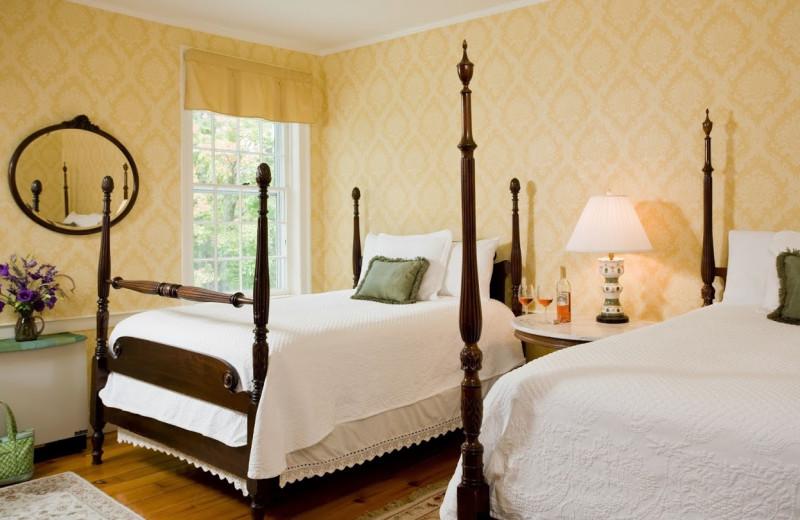 Guest room at Swift House Inn.
