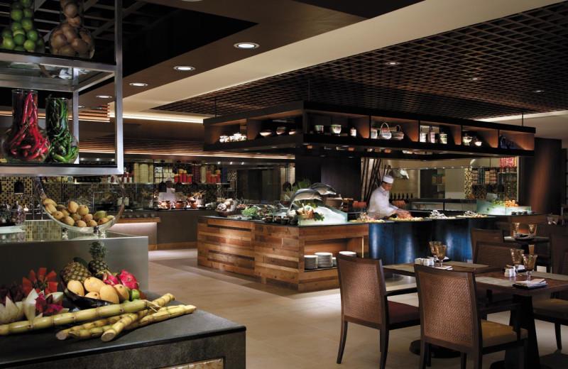 Dining at Shangri-La Hotel-Penang.