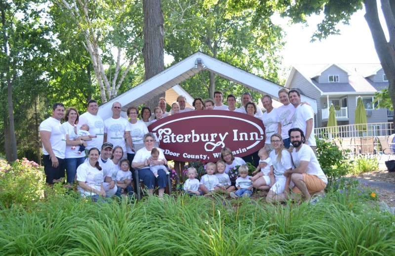 Group at Waterbury Inn Condominium Resort.