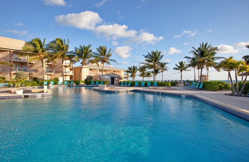 Outdoor pool at Holiday Inn Resort Grand Cayman Hotel.
