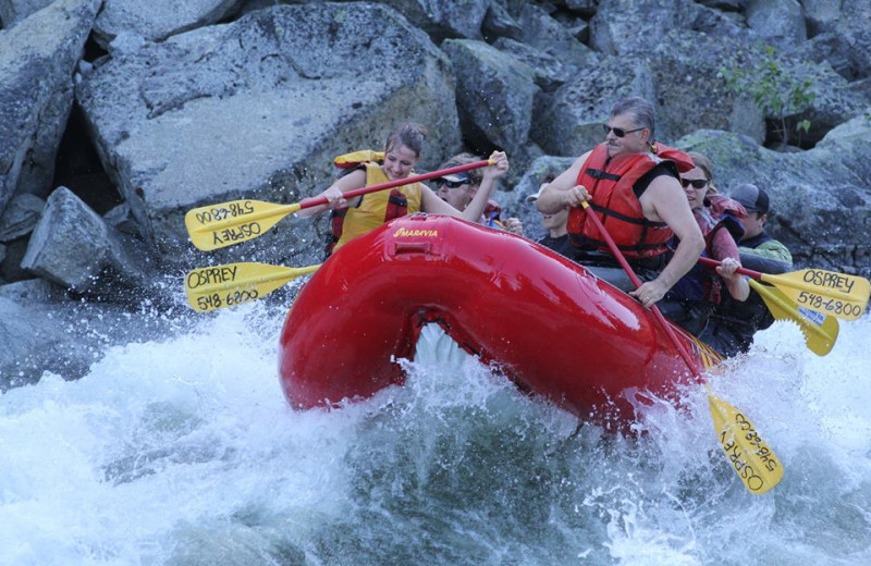 Rafting at Obertal Inn.