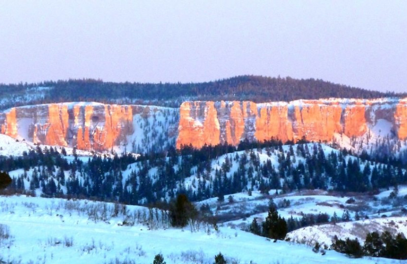 Mountains at Bryce Canyon Estate.