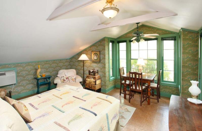 Cabin Bedroom at Hidden Hollow Cabins