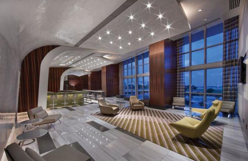 Lounge at Casa Moderna Miami.