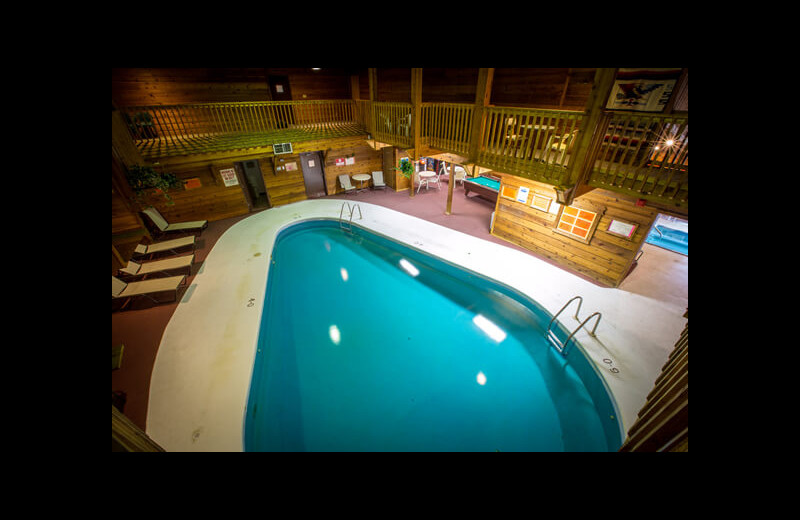 Indoor pool at Northern Pine Inn.