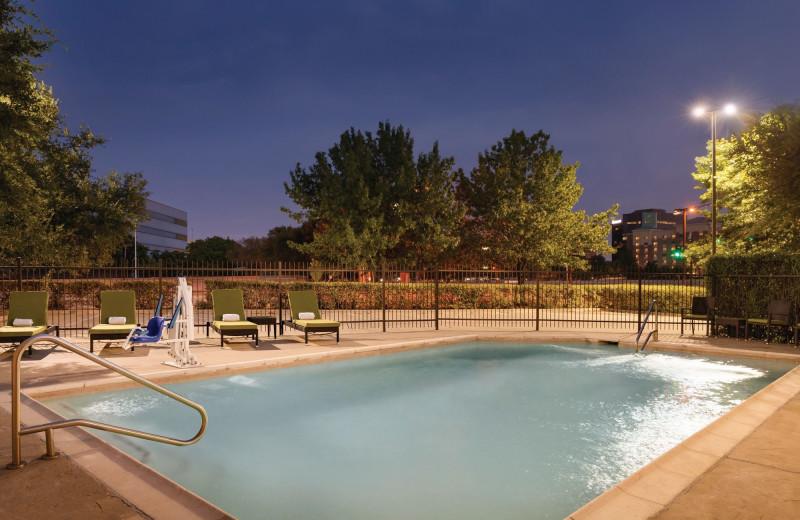 Pool at Radisson Hotel Dallas North Addison.
