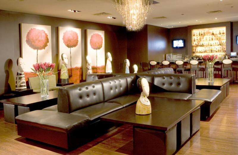 Bar lounge at  Hotel Albuquerque.
