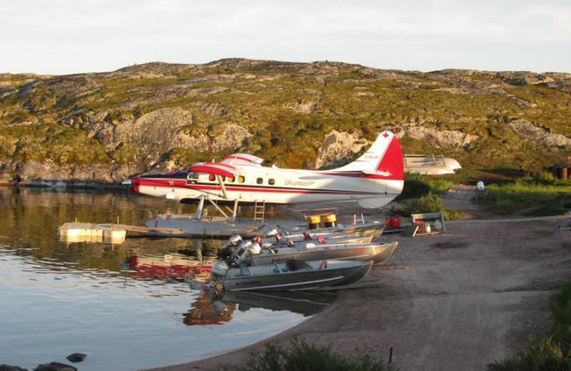 Aircraft at Tukto Lodge