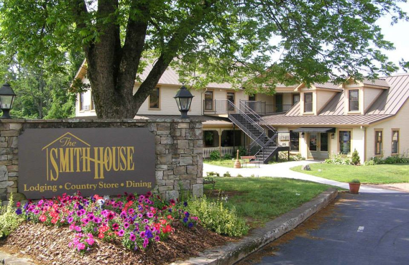 The Smith House Restaurant near Dahlonega Spa Resort.