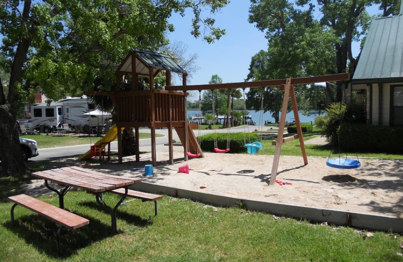 Playground at Rio Vista Resort.