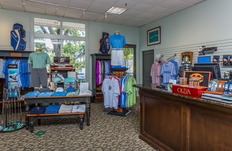 Gift shop at Sea Palms Resort.