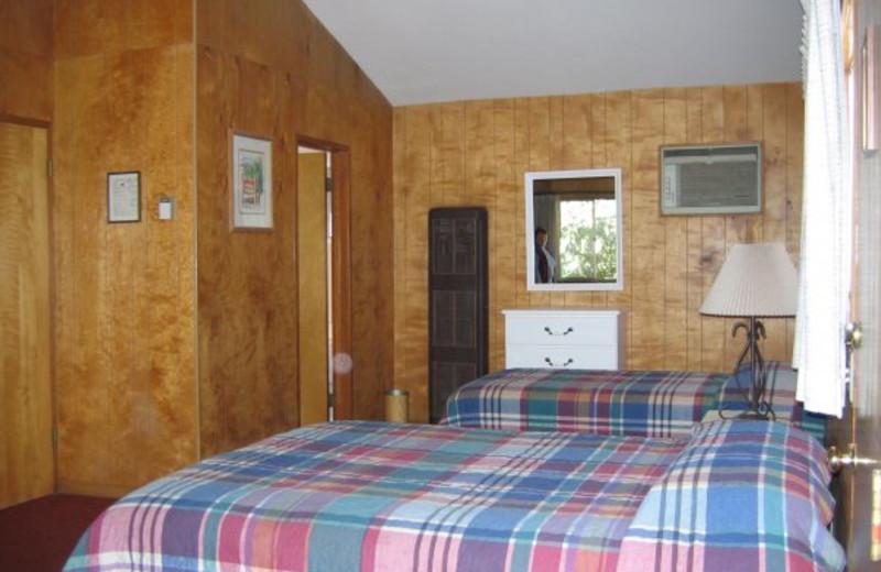 Inside a regular room at Rankin Ranch.