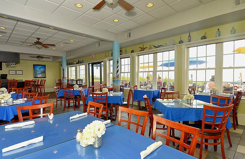Dining room at The Sea Ranch Resort.