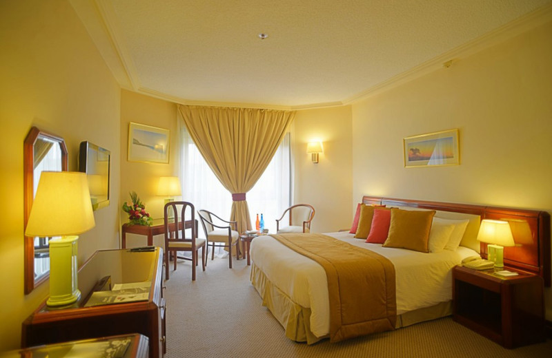 Guest room at Grand Regency Hotel.