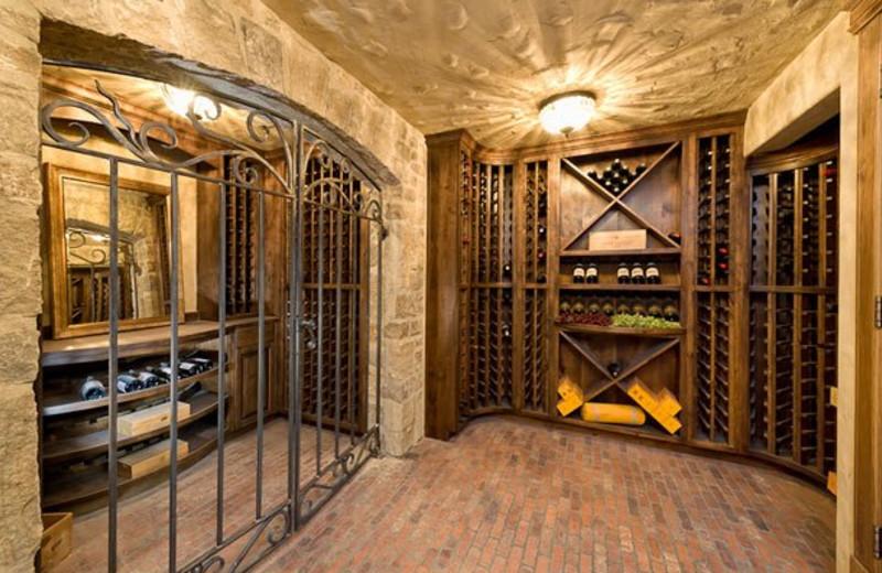 Rental Home Wine Cellar at Triumph Mountain Properties
