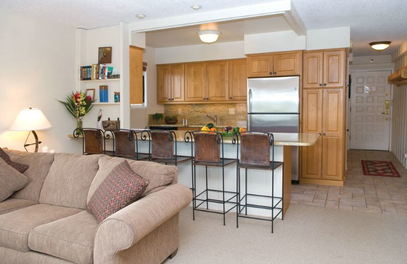 Guest kitchen at The Crestwood.
