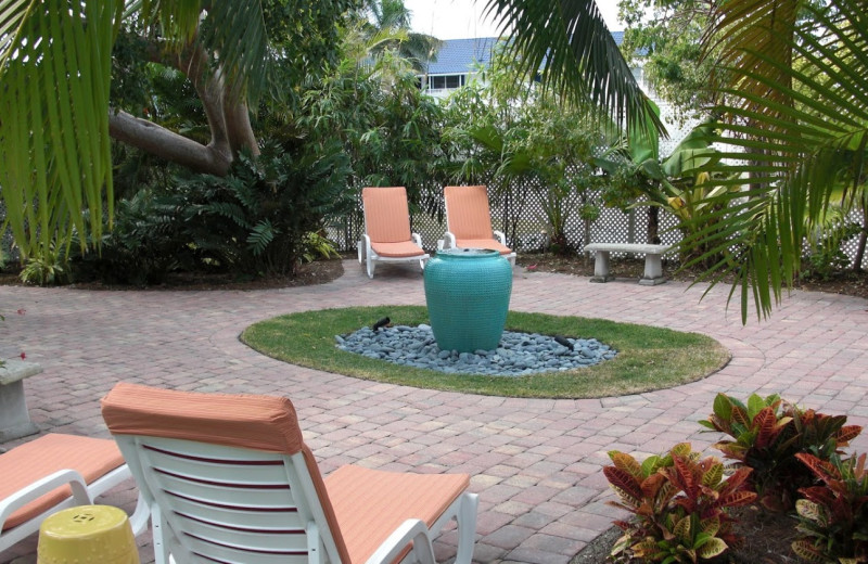 Patio view at Olde Marco Inn & Suites.