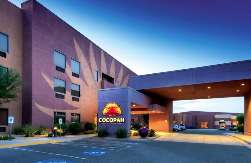 Exterior view of Cocopah Resort & Conference.