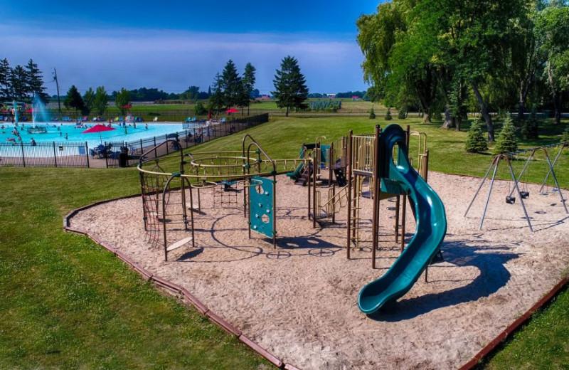 Kids playground at Great Blue Resorts- Vine Ridge Resort.