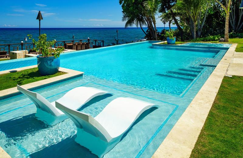 Pool at Villas by Linda Smith.