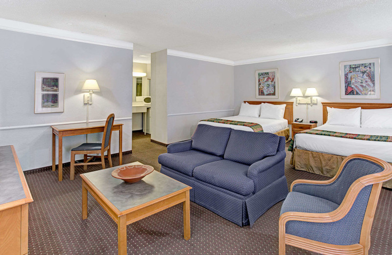 Guest room at Ramada Limited Tucson West.