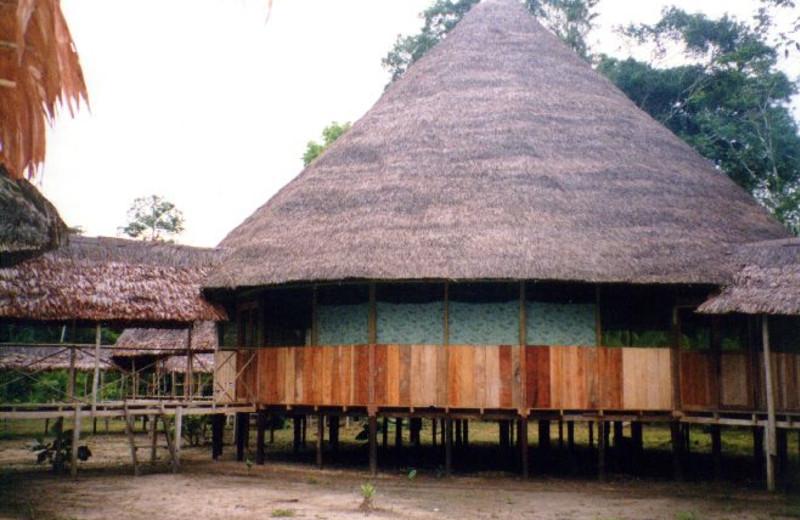Exterior view of Loving Light Amazon Lodge.