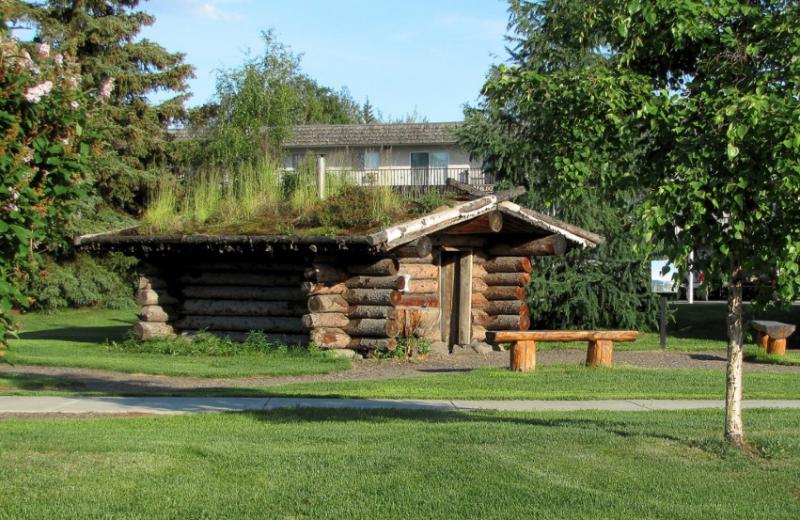 Miner's Log Cabin near Bear Lodge.