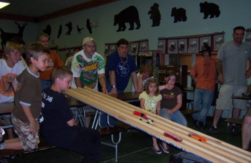 Kids activities at Hemlock Campground & Cottages.