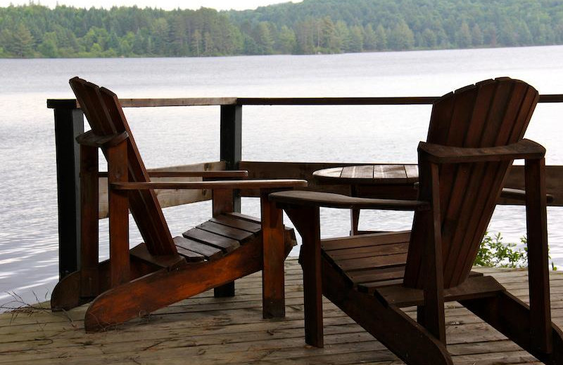 Lake view at Bartlett Lodge.