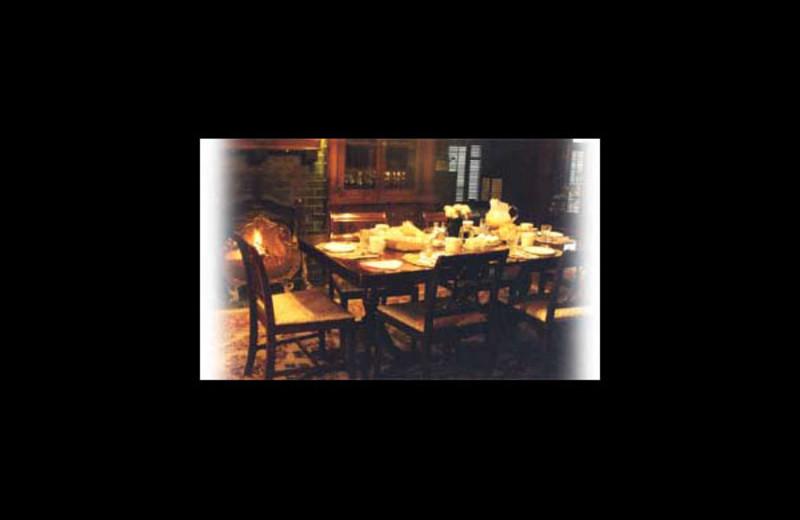 Dining at Moffatt House Reservations.