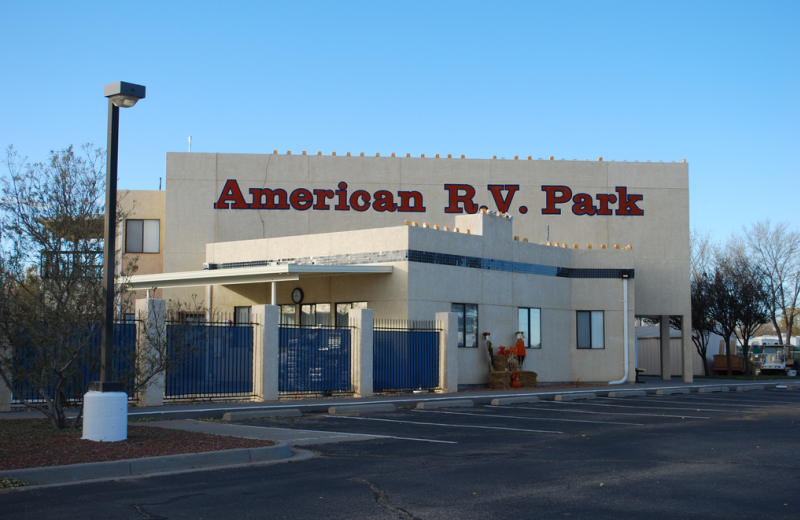 Exterior view of American RV Park.