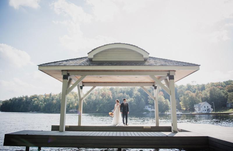 Weddings at Port Cunnington Lodge.