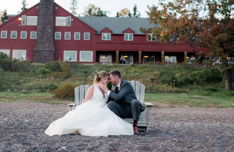 Weddings at Lutsen Resort on Lake Superior.