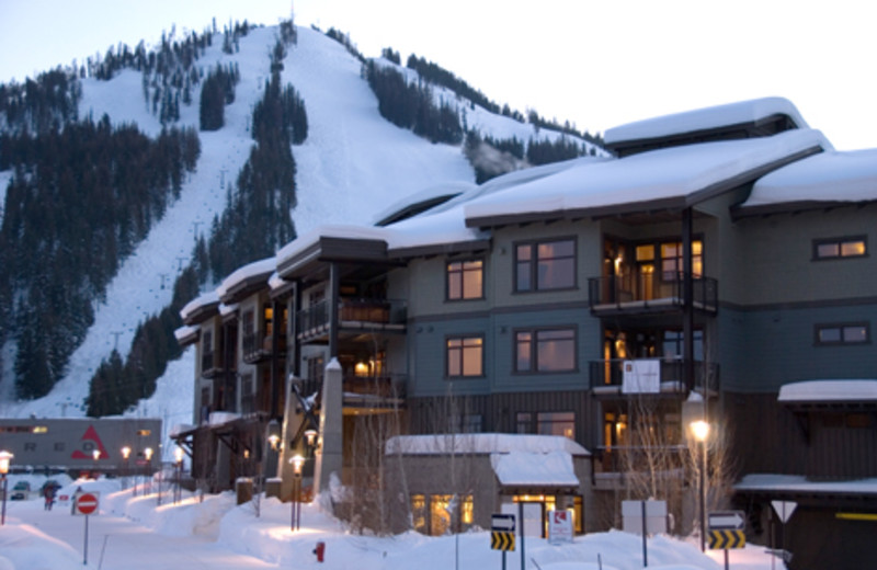 Exterior view of Red Mountain Resort.